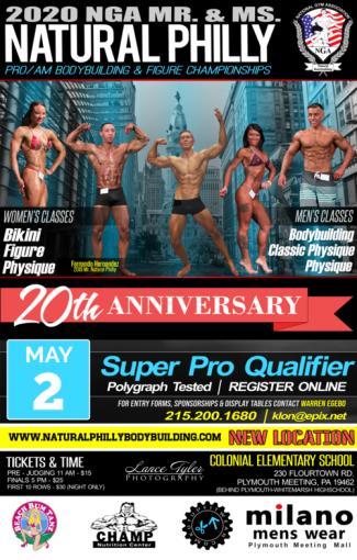 2020 NGA Natural Philly flyer